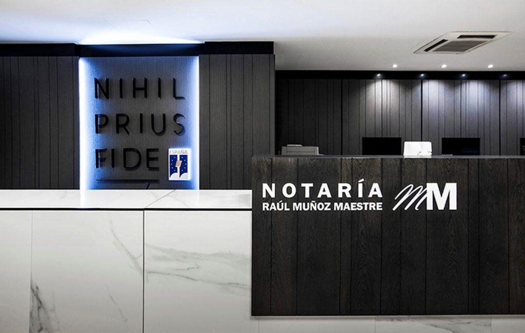 Oficinas Notaria Raúl Muñoz Maestre 2